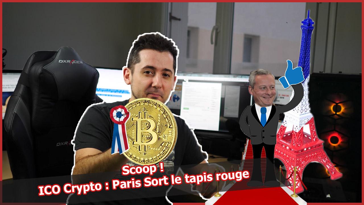 ICO cryptos : Quand La France prépare une certification AMF #Exclu #bitcoin