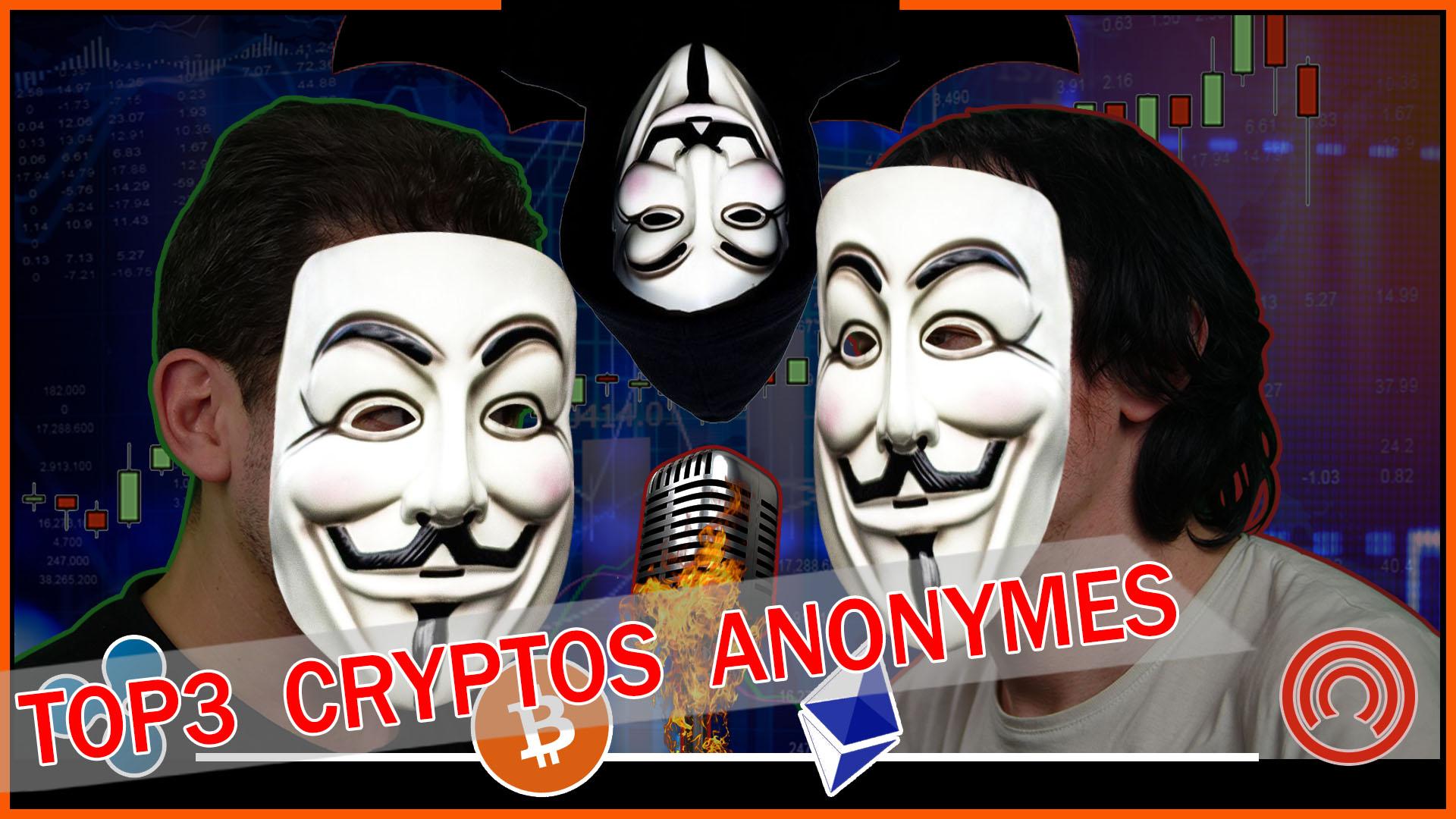 Top3 Cryptomonnaies Anonymes 2018