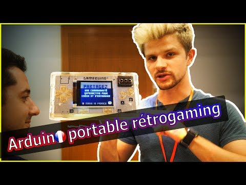 [ NuitDuHack ] Console Gamebuino : le retrogaming portable sur arduino