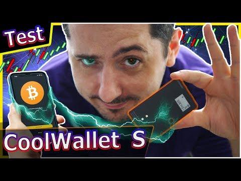 [ Test ] CoolwalletS : le wallet CB avec écran bluetooth mieux qu'un ledger nanoS à 99€ ?