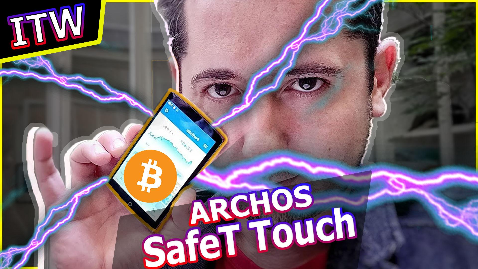 Archos SafeT Touch : le futur wallet crypto qui défie ledger ?