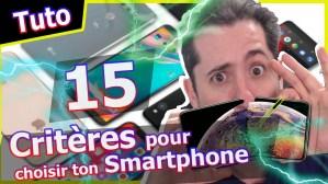 15 Critères pour choisir le meilleur smartphone Iphone ou Android
