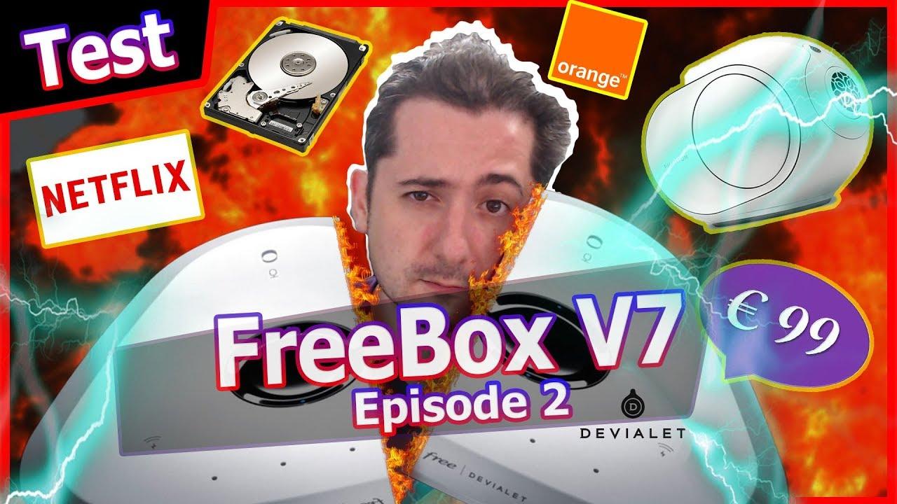 Freebox V7 Delta : Devialet, Netflix, frais d'installation