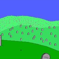 Friedhof der verstorbenen Super Marios