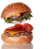 So entsteht der perfekte Burger Drop