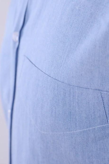 Camicia su misura con taschino
