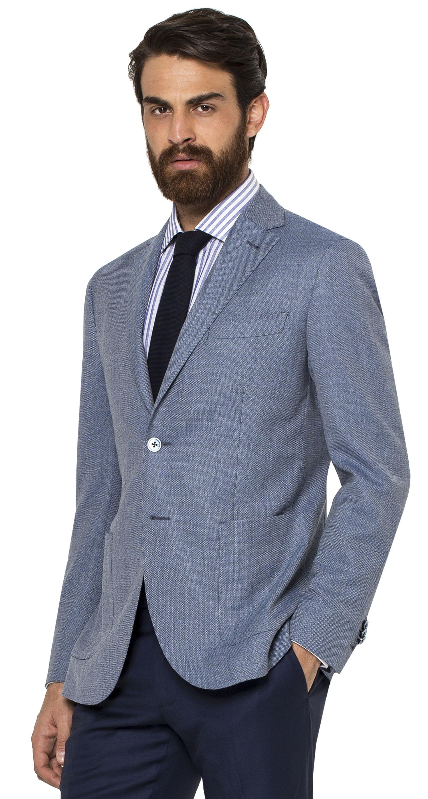 spezzato uomo giacca grigio scuro
