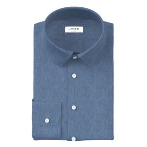Denim Light Blue Shirt by Ibieffe