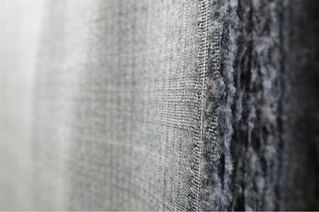 esempio di trama di tessuto di lana e finezza