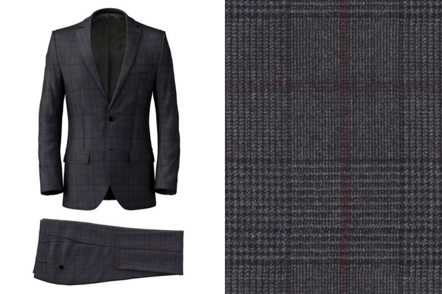 Anthracite Prince of Wales Suit