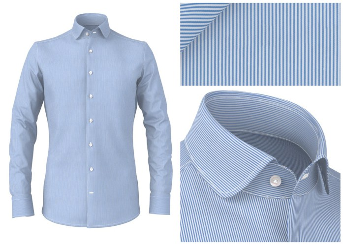 Men's stripe shirts