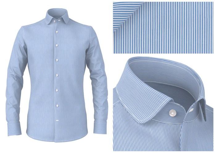 Men's stripe shirts