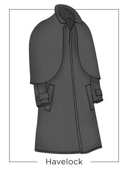 Havelock overcoat