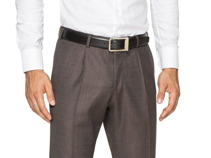 Pantalons à pinces