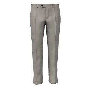 Pantaloni su Misura da Uomo Fresco Grigi