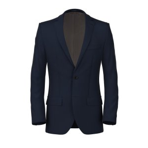 Assoluto Biella Blue Blazer Fabric produced by Carlo Barbera