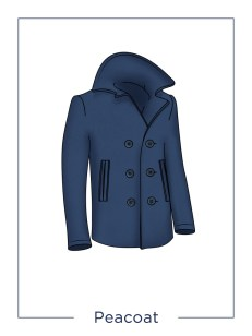 manteau peacoat