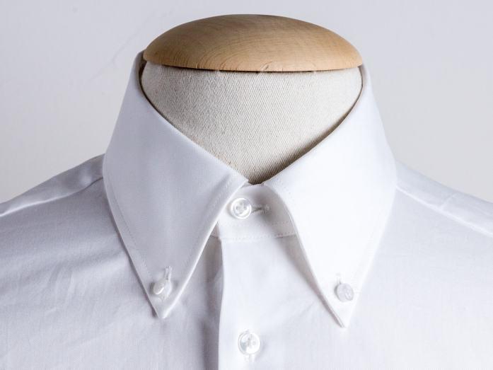 Short button down collar shirt