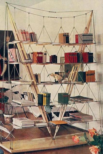 Libreria Veliero in appartamento con libri