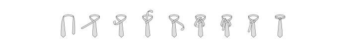 Nodo alla cravatta Atlantico