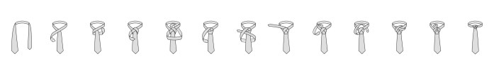 Nodo alla cravatta Eldredge