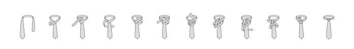Trinity knot steps
