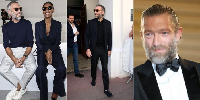 Vincent Cassel in tre diversi outfit