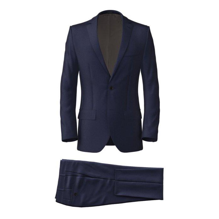 Blue Twill Suit