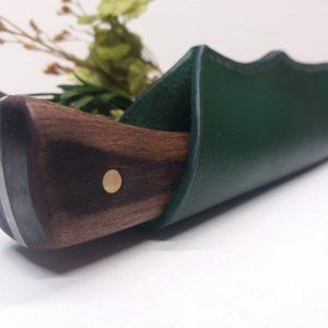 Etui à couteau en cuir Sophie Lanini Cuir maroquinerie cordonnerie gainerie d'art