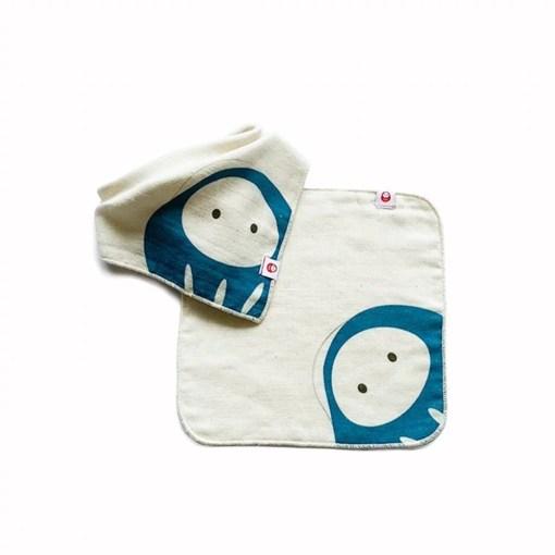嬰兒領巾方巾組
