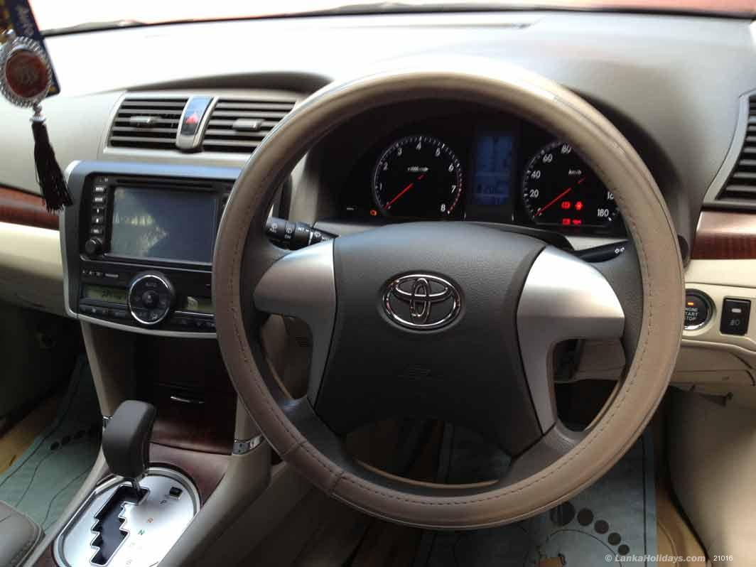 Sri Lanka Car Rentals Hire Rent A Toyota Premio G