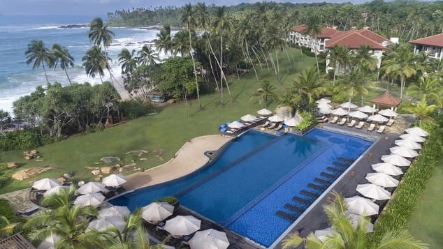 The Anantara Peace Triangle Tangalle is a level one listed resort, meaning they can host quarantiners. Courtesy of Anantara