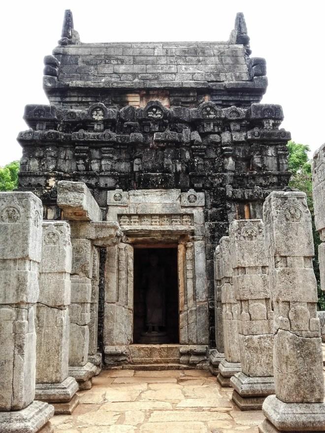 Nalanda Gedige - Pavilion Entrance