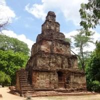 Sathmahal Prasadaya - Ancient City of Polonnaruwa