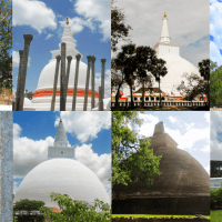 The Eight Sacred Places (Atamasthana) in Anuradhapura