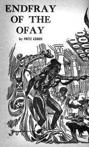 Endfray of the Ofay - If Mar 1965 Jack Gaughan