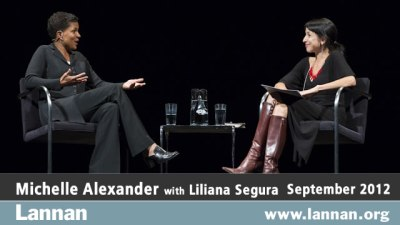 Michelle Alexander with Liliana Segura