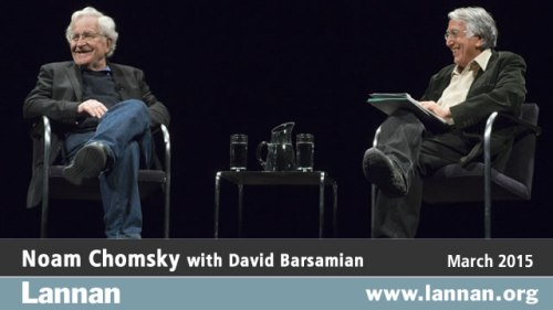 Noam Chomsky with David Barsamian