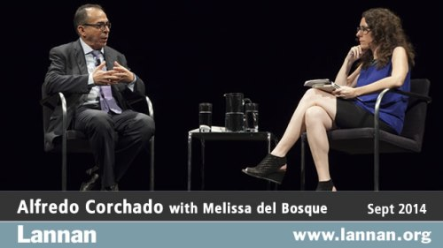 Alfredo Corchado with Melissa del Bosque