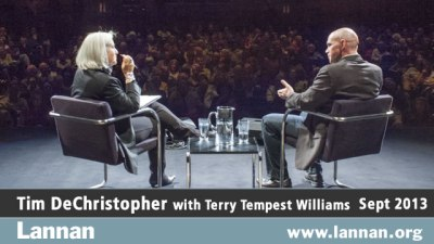 Tim DeChristopher with Terry Tempest Williams