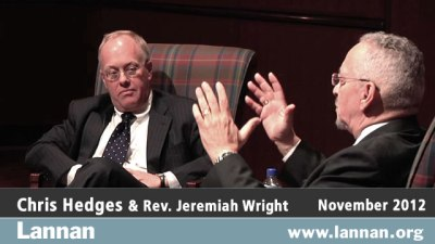 Chris Hedges with Reverend Jeremiah Wright
