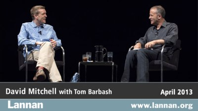 David Mitchell with Tom Barbash
