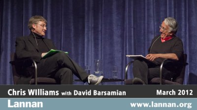 Chris Williams with David Barsamian