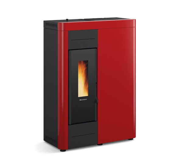 Decorative wood pellet boiler from Extraflame