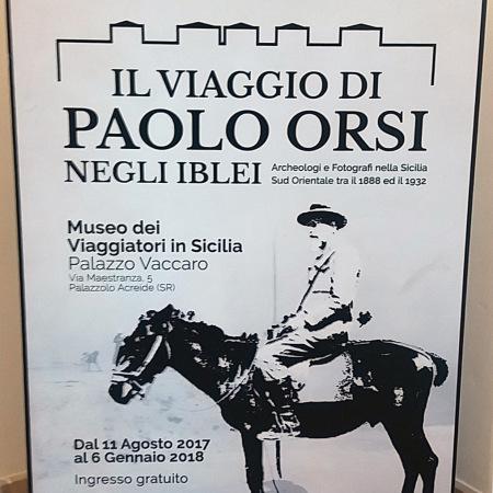 Il viaggio di Paolo Orsi negli Iblei