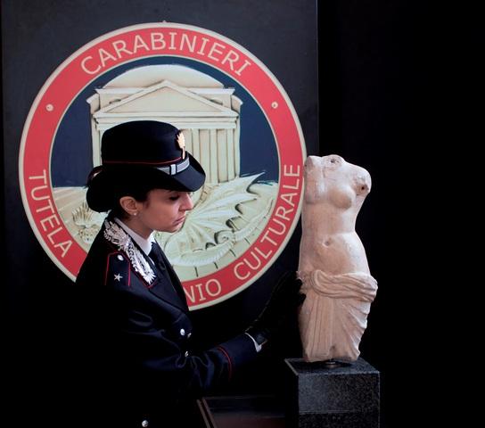 Carabinieri Tutela Patrimonio Culturale. Ottimi risultati della Sez. di Siracusa