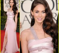 megan fox golden globe 2011