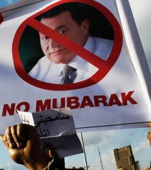 No Mubarak Egitto