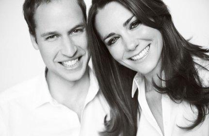 Foto del Principe William d'Inghilterra e Kate Middleton