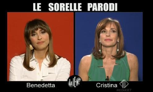 Intervista alle sorelle Parodi Le Iene Show Foto